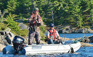 Fishing or Hunting - Extremely Stable Boat and Motor Packages