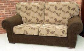 2 x 2 - Seater Sofas. Hand made by local upholsterer. Herdwood Frames.