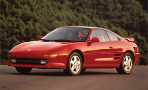 Looking for SW20 Toyota MR2 Turbo Coupe (2 door)