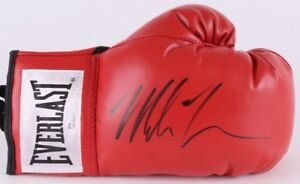 MIKE TYSON AUTHENTIC AUTOGRAPHED SIGNED EVERLAST BOXING GLOVE