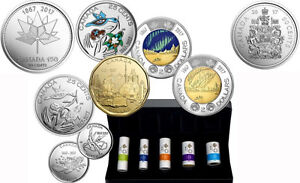 My Canada My Inspiration 2017 coin collection