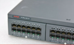 PBX: Avaya IP Office 500 v2 with FW. 9.1 + 25 phones