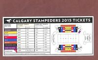For a pair, two 50 yard Ln tickets Calgary BC Lion CFL West Semi