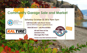 Kal Tire Fundraising Garage Sale