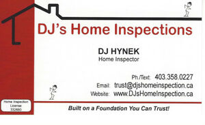 ***DJ's Home Inspections***