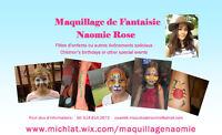 Maquillage de Fantaisie Naomie Rose (Maquilleuse pour enfants)