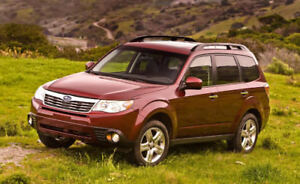 2009 Subaru Forester for project or parts (ad deleted when sold)