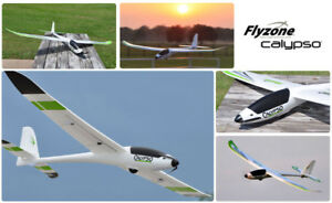 FLYZONE CALYPSO RC GLIDER READY TO FLY