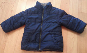 'Faded Glory' Boys Winter Puffer Coat (Size 3) *great condition!