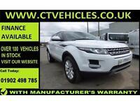 2015 15 plate Land Rover Range Rover Evoque 2.2Sd4 190bhp 4X4 Auto Pure TECH
