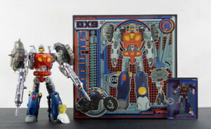 Transformers DX9 Salmoore MIB (MP scaled GoBots Cy-Kill)