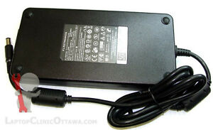 Used laptop charger, 170W for W520 and 240W for Dell M6600