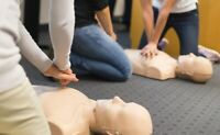 Standard First Aid course  $90 CPR courses $40