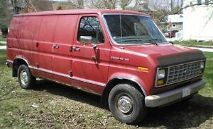 1989 Ford E-150 Econoline Van Not Safety Approved