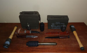 Large WW2 WWII Military Collection