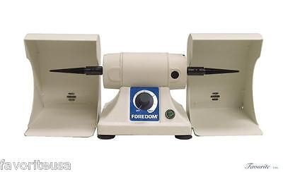 Foredom Bench Lathe With 2 Polishing Hoods 230v For Dental Lab Or Jewelry Shop
