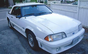 Mustang GT Convertible fox body