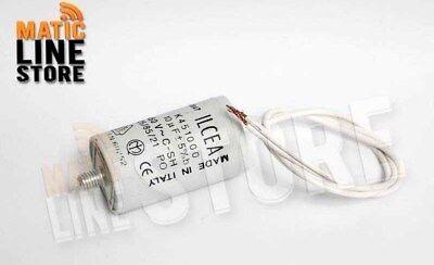 WERDEN Condensador//Capacitador para motor aislado de 100 uF microfaradios 450 V