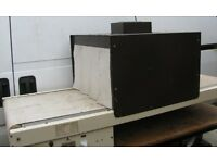 Shrink wrapping machine, L-Sealer with shrink wrap tunnel