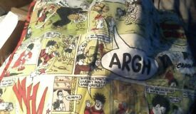 Beano Bundle : Quilt / Pillowcase Cover / Comics (14 In Total) / And More!