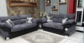**BRAND NEW LUXURY LOGAN CORNER OR 3 +2 SOFA SET AVAILABLE IN STOCK**