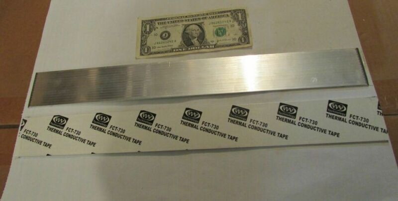 Long Liquid Filled Aluminum Heatsinks Heat Pipe Cooler with FCT-730 Thermal Tape