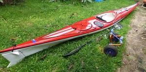 Mirage 530 Kevlar Sea Kayak Summer Hill Ashfield Area Preview