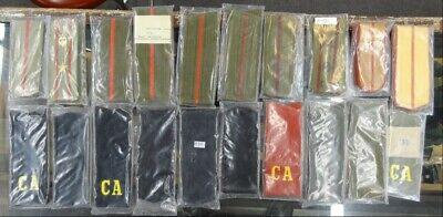 Dealer's Lot - 20 Pairs of Soviet Shoulder Boards - SB#3