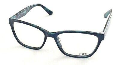 New OGI Evolution 3127 Cool Frames Eyeglasses 1711 Blue Camouflage 54/16/140 (Camouflage Glasses Frames)