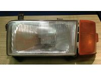 VW T4 transporter drivers side headlight + indicator lens