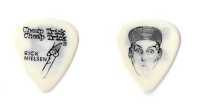 Cheap Trick, 1980s Tour, Rick Nielsen Hat Face Guitar Pick