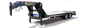 NEW 20' BIG TEX GOOSENECK FLATBED