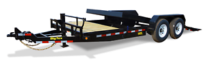 BIG TEX 22' HEAVY DUTY TILT BED EQUIPMENT TRAILER!