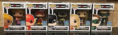Big Bang Theory Costumes (2019 Funko POP! Big Bang Theory in Costumes Summer Convention Exclusive Set of)