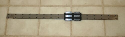 THK Linear Slide Bearing 78cm Rail w/2 of SHW21  Y4V026 Blocks & Screw
