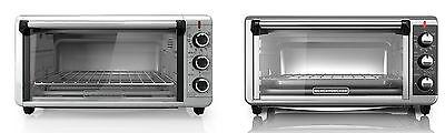 Black+Decker TO3250XSB Extra-Wide 8-Slice Toaster Oven, Stainless (Black & Decker Extra Wide Toaster Oven)