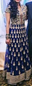 Navy Blue Anarkali Suit for sale