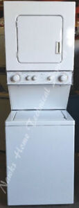 "Whirlpool 24""  Compact Stacking Washer Dryer, 1 year warranty"