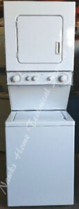 "Whirlpool 24"" Compact Stacking Washer Dryer, 12 month warranty"