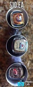 Molson Canadian NHL Stanley Cup Rings. Kingston Kingston Area image 1