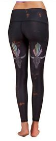 TEEKI BUFFALO PRINCESS BLACK HOT PANT (leggings) Size M (10-12)