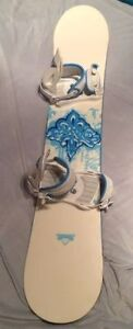 Beautiful Technine 142 cm Snowboard for Girls & Ladys