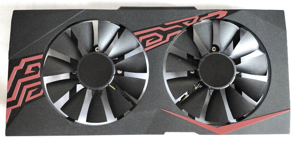 Grafikkarten Lüfter Kühler / GPU Cooler für ASUS P106 Mining Karte neu