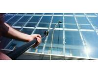 Pure water window cleaning, velux, fascia, domestic cleaning, dbs checked cleaners.