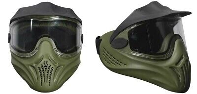 Paintball Maske Empire Helix Single - oliv