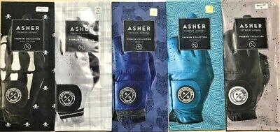 ASHER PREMIUM CABRETTA, INDIGO INK, JET BLACK, OCEAN BREEZE,WHITE, BLACK DEATH ()