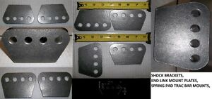 """1/4"""" THICK H/D 4 HOLE MOUNTING PLATE, SHOCKS, TRAC ARMS, 4 LINK, Belleville Belleville Area image 1"""