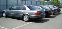 BMW 750iL High Security B6/B7 Werkspanzer Armoured