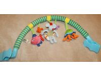 Taf Toys Arch n Touch Clip-On Pram / Car Seat Toy - From Birth - RRP £24 - Animal Sea Fish Octopus