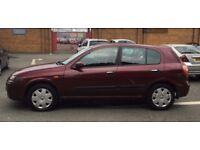 2005 Nissan Almera 1.8 SE 5dr Automatic,Full Service History, P/X WELCOME